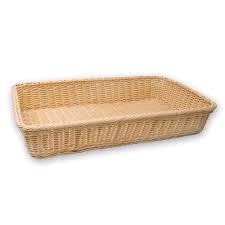 Where to find BREAD BASKET, WICKER, 24  X 10 in Lacey