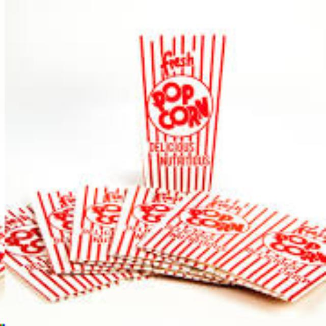 Where to find POPCORN BAG,SM 3X7,PKG 50 in Lacey