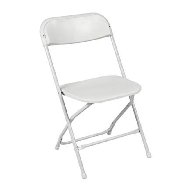 Where to find CHAIR, DINING WHITE ALUMINUM in Lacey