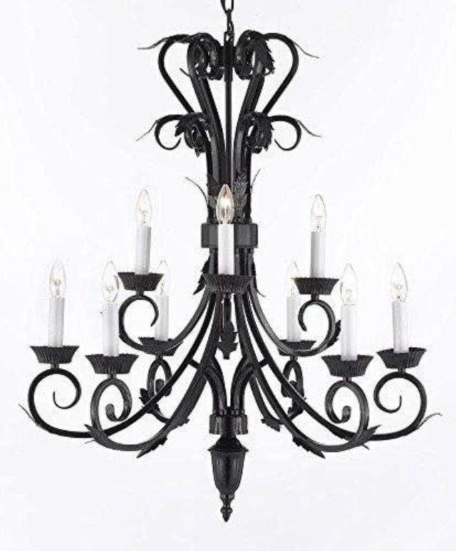 Where to find CHANDELIER-WROUGHT IRON in Lacey
