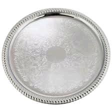 Where to find SERVING TRAY STAINLESS-ROUND in Lacey