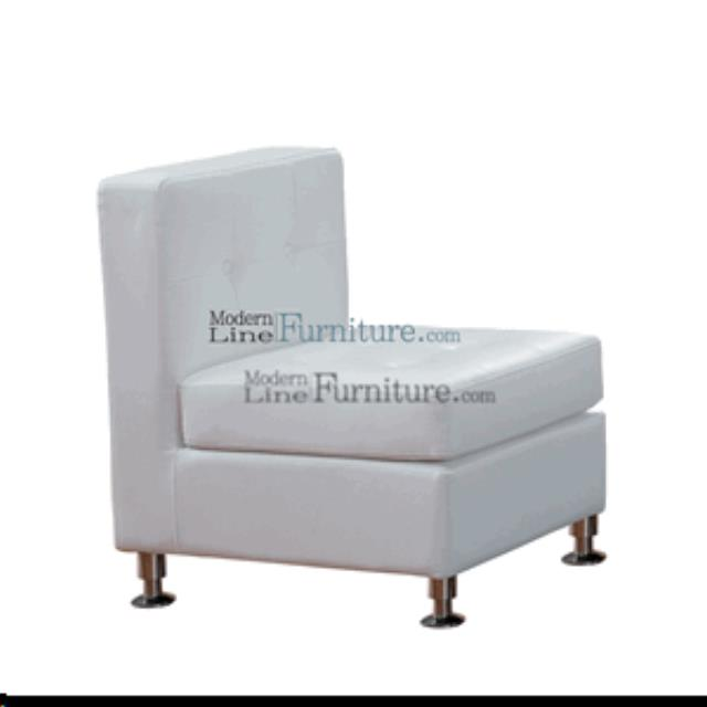 Where to find ARMLESS CHAIR - WHITE in Lacey