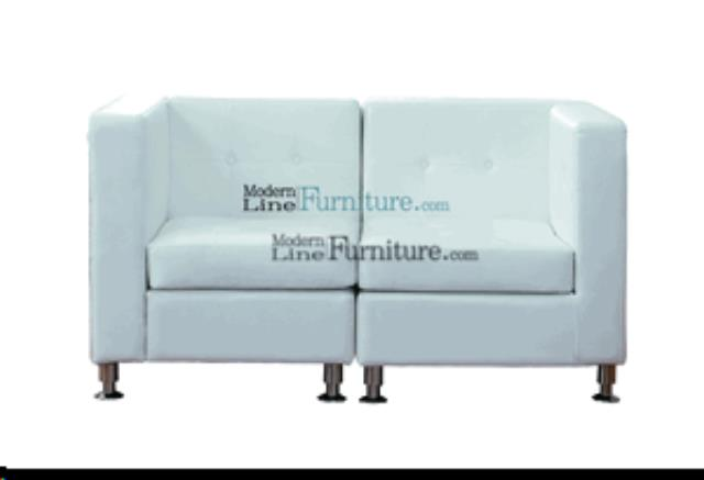 Where to find LOVE SEAT - WHITE in Lacey