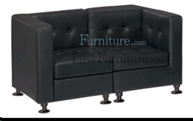 Where to find LOVE SEAT - BLACK in Lacey