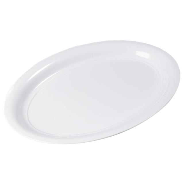 Where to find PLATTER, 21  X 15  OVAL, WHITE in Lacey