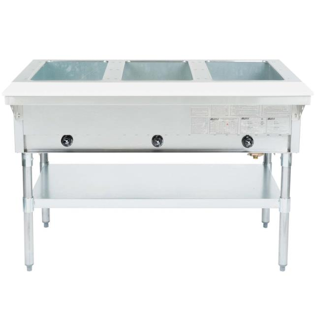 Where to find STEAM TABLE, 12 QT, 3 COMPARTMENT in Lacey