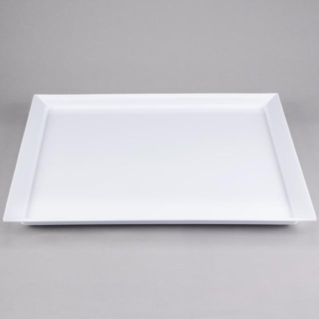 Where to find PLATTER, 24  X 24 , WHITE MELAMINE in Lacey