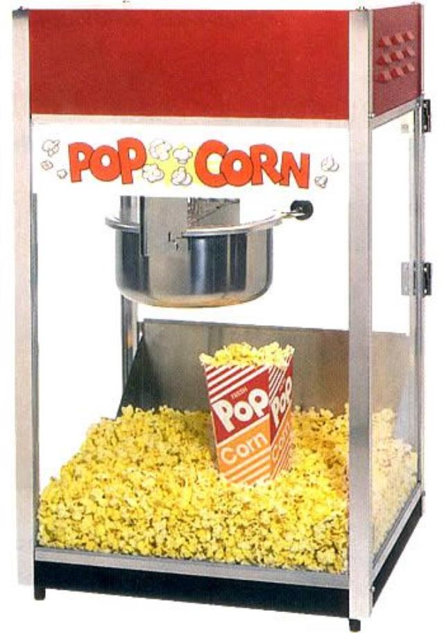 Where to find POPCORN MACHINE, RED,  7 in Lacey