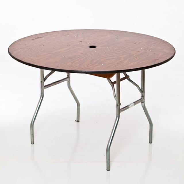 Where to find 60  ROUND TABLE, UMBRELLA STYLE in Lacey