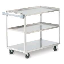 Where to find BUSSING CARTS ON WHEELS,STAINLESS STEEL in Lacey
